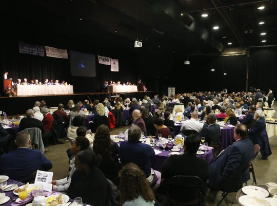 The Majed J. Nesheiwat Convention Center  hosts the 29th annual Martin Luther King Jr. Breakfast on January 24, 2020.