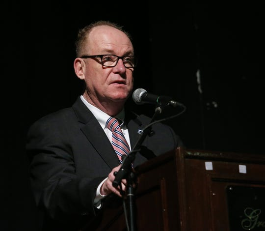 City of Poughkeepsie Mayor Rob Rolison speaks during the 29th annual Martin Luther King Jr. Breakfast on January 24, 2020.