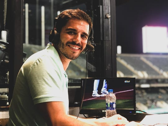 Zack Bayrouty will be the new lead broadcaster for the Reno Aces baseball games this season.
