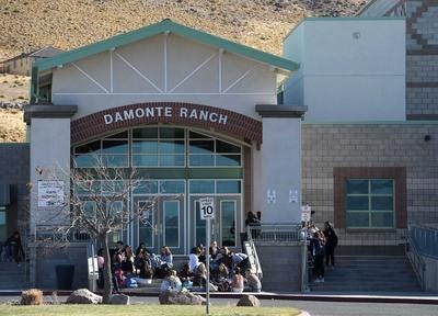 Two of the four victims in a suspected murder-suicide in Reno were students at Damonte Ranch High School, police said.