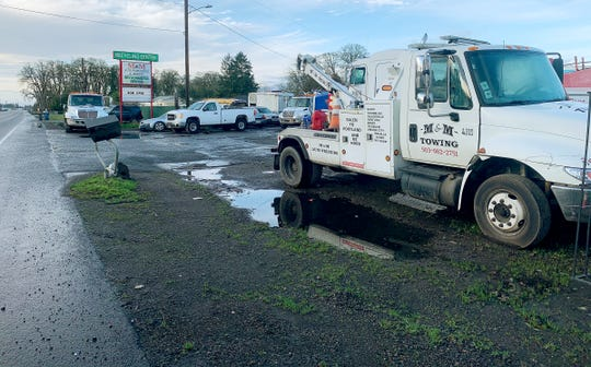M&M, owned by Micky D. Henson, operates a salvage yard, auto sales and parts business, and towing fleet serving the entire Willamette Valley, itÕs headquartered at 947 S. Pacific Highway in Woodburn.