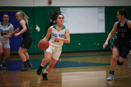 McKays Mercy Siro, 11, drives down the court during their game against South Salem at McKay High School January 23, 2020.