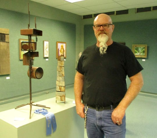 Eldorado blacksmith and artist Kevin Stanford has been named as the San Angelo Art Club's 2019 Artist of the Year.