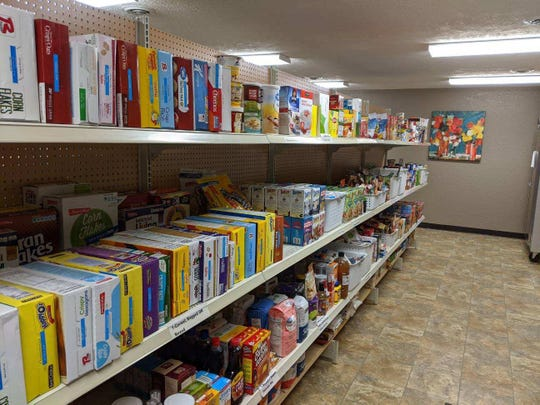 The Brandon Area Food Pantry is open every Tuesday and Thursday on Main Street from 4-6 p.m.