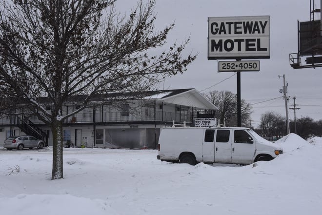 Gateway Motel, pictured Friday, Jan. 24, 2020, could be razed to make way for a new multi-tenant commercial space.