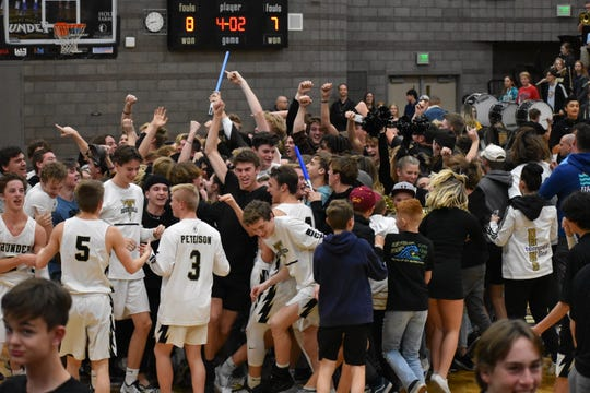 Desert Hills beat Pine View 59-56 on Thursday, January 23rd.