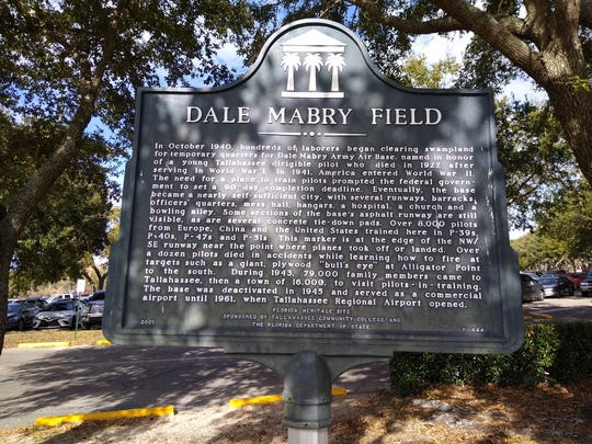 This marker is located on Tallahassee Community College's campus at the corner of Appleyard Drive and West Pensacola Street.