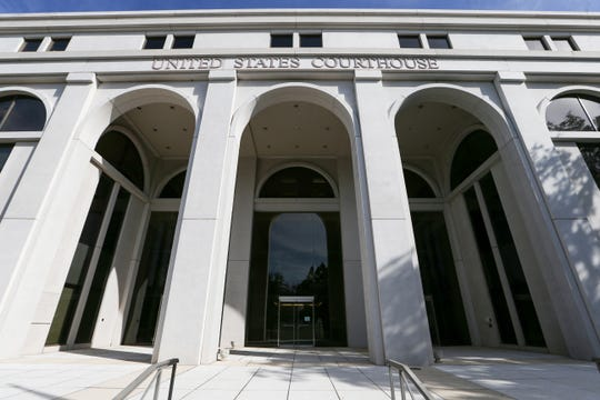 U.S. District Courthouse for the Northern District of Florida, Jan. 23, 2020.