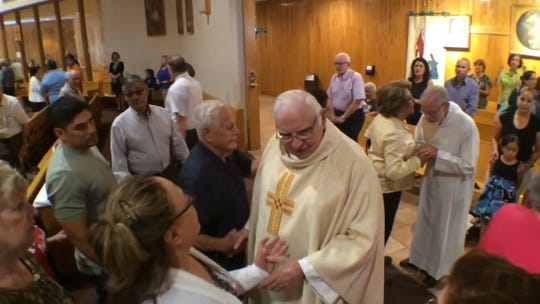 Monsignor Francis J. Smith is most known for his service at St. Raphael Catholic Church on the East Side. He died at 85 on Friday.