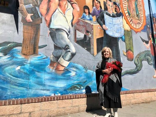 Socorro De Anda, president of the Lydia Patterson Institute, is Sacred Heart Church's 2020 Segundo Barrio Person of the Year.