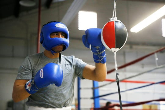 El Paso's Josue Garcia will fight on Saturday night on the undercard of the Jennifer Han main event. The fight card is taking place at the El Paso County Coliseum. The first fight is scheduled to start at 6:30 p.m.