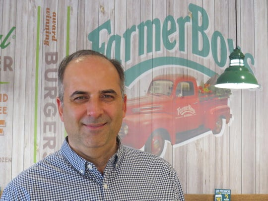 Omar Mawas is the franchisee-owner of Farmer Boys in Newbury Park. Slated to open on Jan. 26, the restaurant is the chain's first location in Ventura County.
