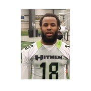 Shareif Simpson, 25, played semi-professional football for the Cumberland Valley Hitmen. He was killed by his roommate in Bensalem on March 9.