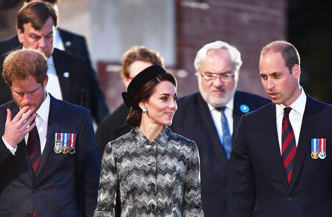 Prince Harry, Duchess Kate and Prince William traveled to France in June 2016 to commemorate the 100th anniversary of the beginning of the Battle of the Somme in World War I.