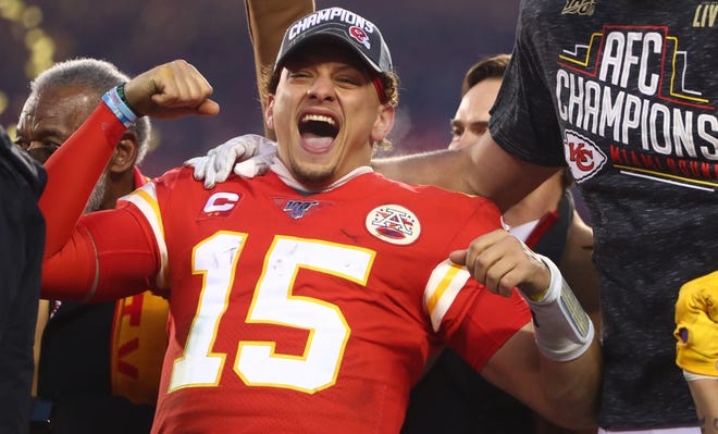 Patrick Mahomes has the Chiefs in their first Super Bowl in 50 years.