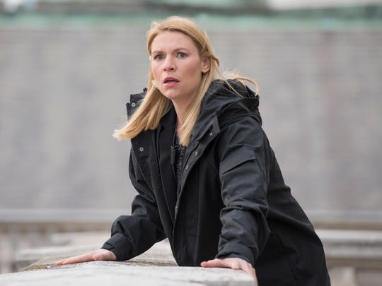 """Claire Danes was pregnant with her son Rowan while filming Season 7 of Showtime's """"Homeland."""""""
