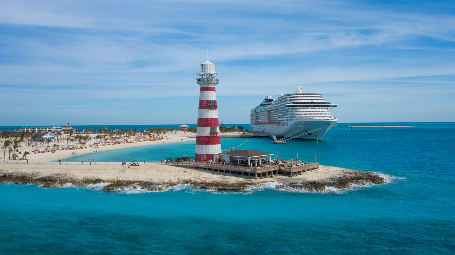 Cruise lines are enhancing their private island amenities and their passengers are winning