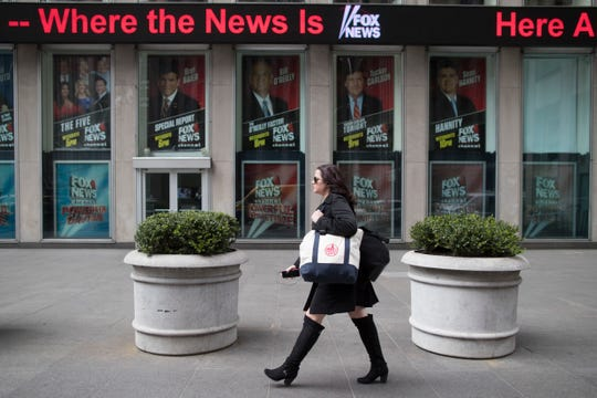 Fox News Headquarters in New York City in 2017.