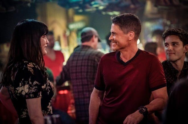 Liv Tyler, left, Rob Lowe and Ronen Rubenstein star in Fox's '9-1-1: Lone Star.'