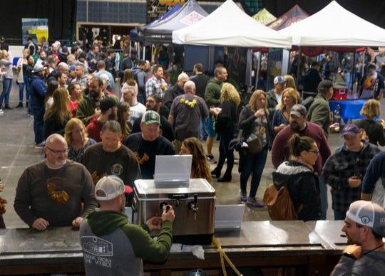 2020 Asbury Park Beerfest in Asbury Park on January 25, 2020.