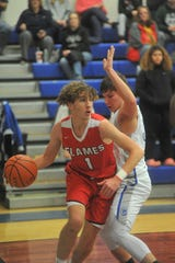 Mansfield Christian's Zach Yoho has the Flames at No. 11 in the Richland County Boys Basketball Power Poll.