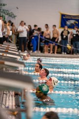 The GMC boys swimming championship meet was held at the Raritan Bay Area YMCA in Perth Amboy on Friday.