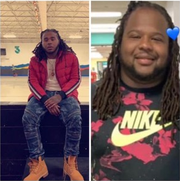 Karyree Henderson, 21, (left) and Damiko Carr, 28, both of Des Moines, shown in undated family photos. The brothers were killed Jan. 15, 2020 on the city's west side.