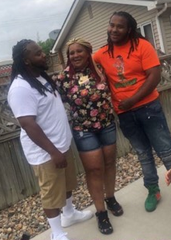 Damiko Carr, 28, (left) and Karyree Henderson, 21, shown in an undated family photo. Des Moines police are investigating the deaths of the brothers, who were fatally shot Jan. 15 in the 2700 block of 51 Street.