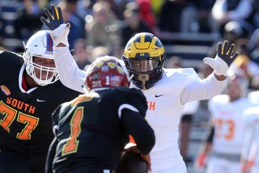 Senior Bowl 2020: How Michigan football, MSU players fared