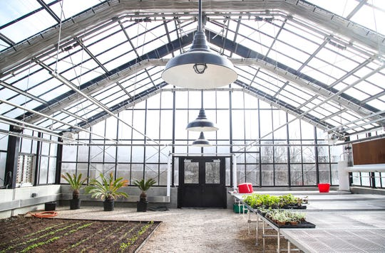 The greenhouse at the Barn8 restaurant will be open to guests to see the vegetables produced as well as an orangerie with limes.