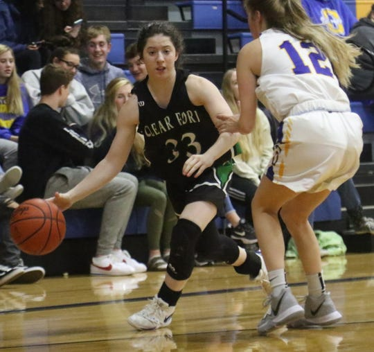 Clear Fork's Lyvia Davis has the Lady Colts at No. 9 in the Richland County Girls Basketball Power Poll.