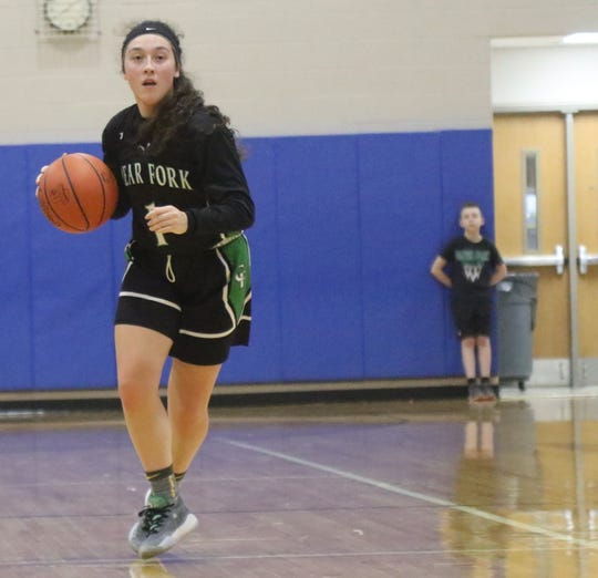 Clear Fork's Morgan Galco has the Lady Colts at No. 9 in the Richland County Girls Basketball Power Poll.