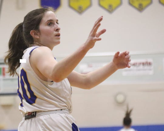 Ontario's Ashten Vavra has the Lady Warriors at No. 6 in the Richland County Girls Basketball Power Poll.