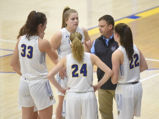 Lady Bomber head coach Dell Leonard earned his 350th career victory at Mountain Home on Friday night.