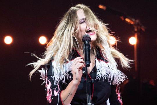 Miranda Lambert performs at Bridgestone Arena Friday, Jan. 24, 2020, in Nashville, Tenn.