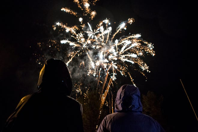 Fireworks, like this at Buckeye Lake, will be rare this year, due to the coronavirus. But, residents are warned it is illegal to set off fireworks in Ohio without a license.
