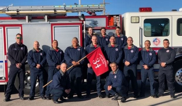 The Las Cruces Fire Department will graduate 12 cadets from its 34th Fire Academy next Friday, Jan. 31.