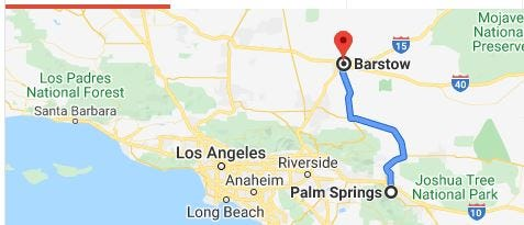 Two quakes -- 4.6 and 2.9 -- rattle Barstow, Calif. Friday, Jan. 24, 2020. Rumbling felt in Coachella Valley.