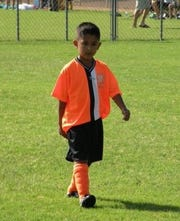 A young Chris Guzman in the early days of his career