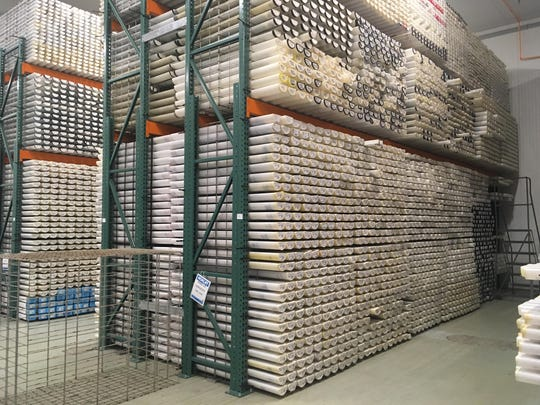 Oregon State University's new Marine and Geology Repository holds thousands of sediment cores from around the world.