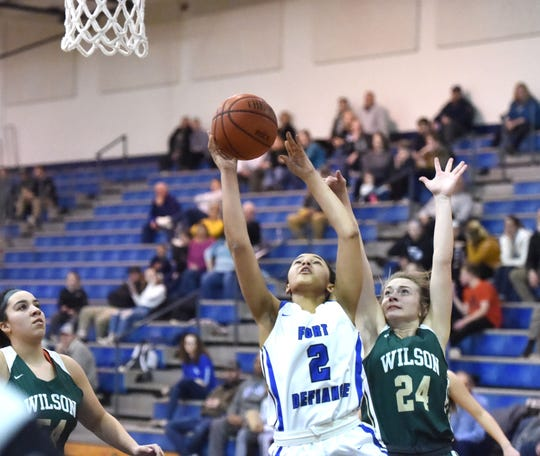 Fort Defiance's Kirby Ransome was named co-player of the year in the Shenandoah District.