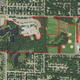 Outline of the 58.93 acre area designated as a school forest