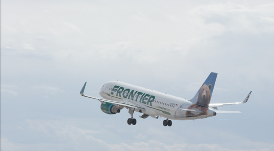 Frontier Airlines is returning service to Delaware. It left the first state almost five years ago.