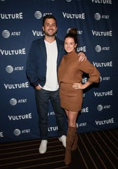 Tanner Tolbert and Jane Roper attend the Vulture Festival Los Angeles 2019.