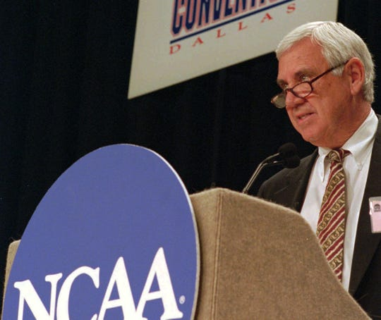 Gene Corrigan was commissioner of the Atlantic Coast Conference for 10 years and NCAA president for two years.