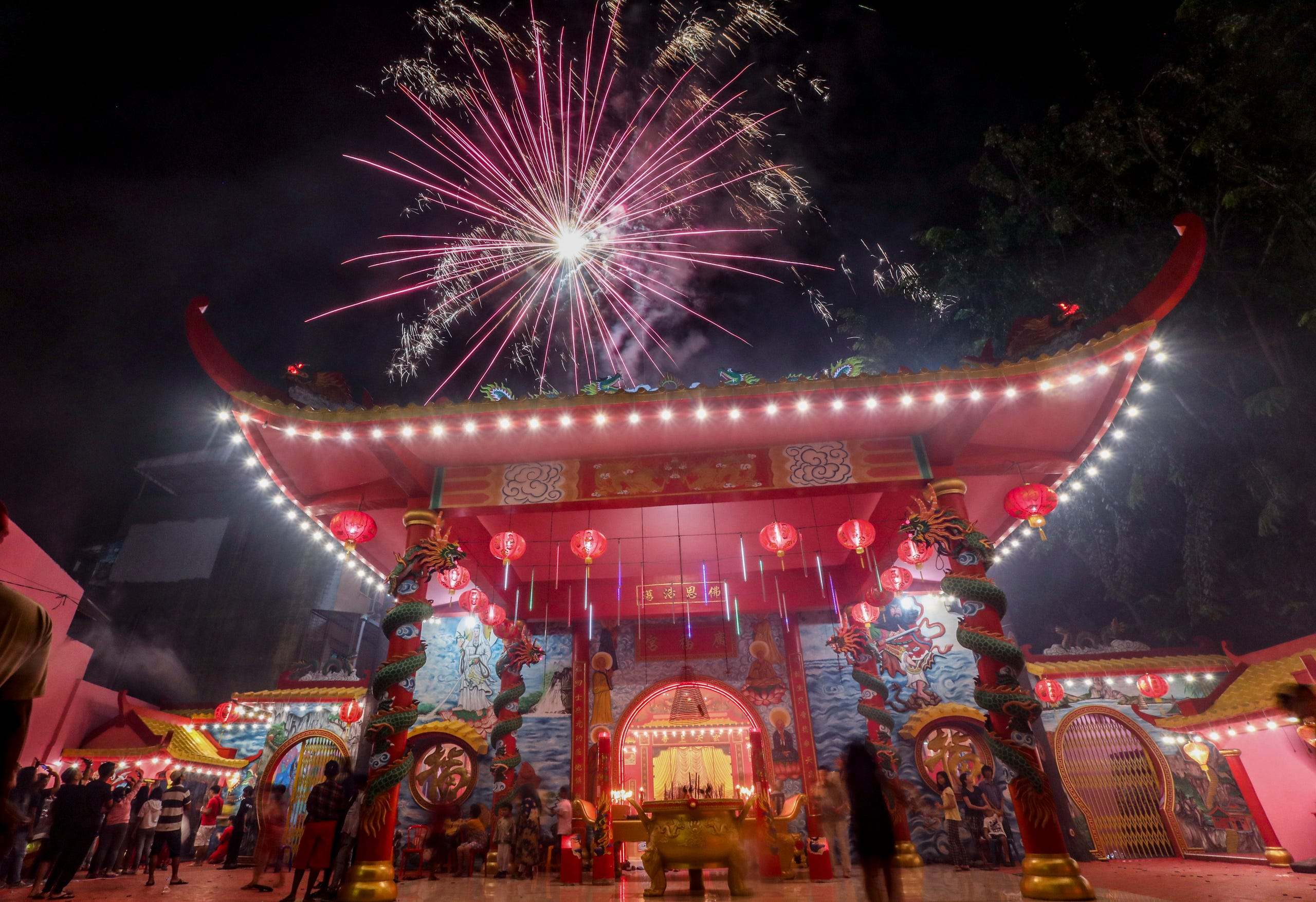 Chinese Lunar New Year celebrations from around the world