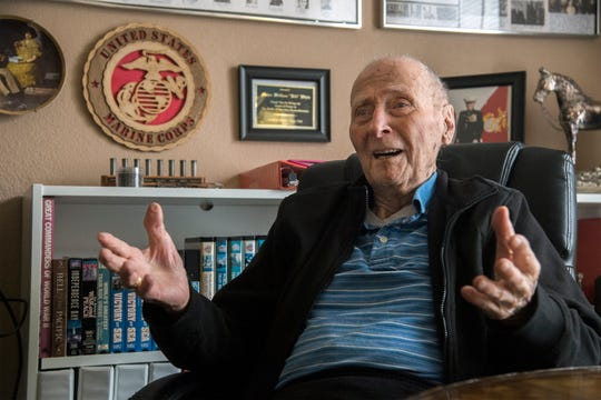 104-year-old Marine Major Bill White, retired, has asked the public for Valentines Day cards for his memory collection. So far, he's received tens of thousands of them.