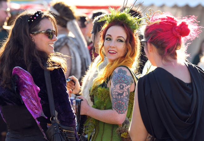 Fantasy was theme for the third of four weekends at the 2020 Brevard Renaissance Fair at Wickham Park in Melbourne.