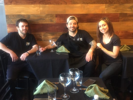 Silver Spoon owners Dennis Kelley (center) and Jillian Kelley, shown here in 2017, are opening Peter James BYOB in Westmont. Cousin Nicholas Cascetti of Cherry Hill will play a big role in the kitchen.
