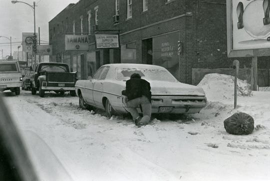 The blizzard of 1978 hit Jan. 25-27 across Ohio, including Ross County, where the snow had already fallen heavily earlier in the the month.